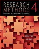 Research Methods for the Behavioral Sciences, Gravetter, Frederick J. and Forzano, Lori-Ann B., 1111342253