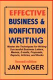 Effective Business and Nonfiction Writing, Yager, Jan, 1889262269