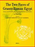 The Two Faces of Graeco-Roman Egypt 9789004112261