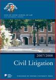 Civil Litigation 2007-2008, Inns of Court Staff, 0199212260