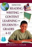 Improving Reading, Writing, and Content Learning for Students in Grades 4-12, , 1412942268