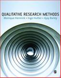 Qualitative Research Methods, Hennink, Monique and Hutter, Inge, 1412922267