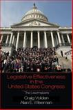 Legislative Effectiveness in the United States Congress : The Lawmakers, Volden, Craig and Wiseman, Alan E., 0521152267