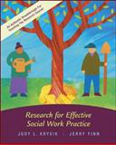 Research for Effective Social Work Practice, Krysik, Judy and Finn, Jerry, 0073112267