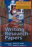 Writing Research Papers, Research Navigator Edition (spiral Bound), Lester, James D. and Lester, Jim, 0321392264