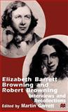 Elizabeth Barrett Browning and Robert Browning 9780312232269