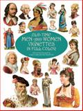 Old-Time Men and Women Vignettes in Full Color, , 0486412261