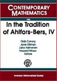 In the Tradition of Ahlfors-Bers, IV, , 0821842277