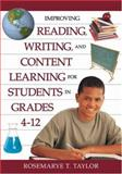 Improving Reading, Writing, and Content Learning for Students in Grades 4-12, , 1412942276