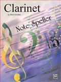 Note Speller Clarinet, Weber, Fred, 0769222277