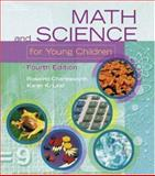 Math and Science for Young Children, Charlesworth, Rosalind and Lind, Karen, 0766832279