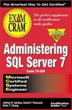 MCSE Administering SQL Server 7 9781576102275