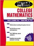 Schaum's Outline of Theory and Problems of College Mathematics, Ayres, Frank, Jr. and Schmidt, Philip A., 0071402276