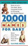 20,001 Names for Baby, Carol McD. Wallace, 0380762277