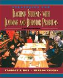 Strategies for Teaching Students with Learning and Behavior Problems, Bos, Candace S. and Vaughn, Sharon, 0205272282