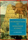 Introduction to Nonlinear Science, Nicolis, G., 0521462282