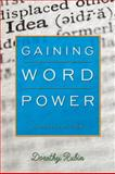 Gaining Word Power, Rubin, Dorothy, 0205642284