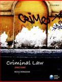 Criminal Law Directions, Monaghan, Nicola, 0198702280