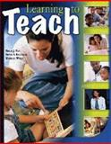 Learning to Teach, Enz, Billie J. and Bergeron, Bette, 0757532284