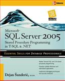 Microsoft SQL Server 2005 Stored Procedure Programming in T-SQL and .NET, Sunderic, Dejan, 0072262281
