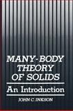 Many-Body Theory of Solids : An Introduction, Inkson, John C., 1475702280