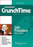 Civil Procedure 2008, Emanuel, Steven and Emanuel, Lazar, 0735572283