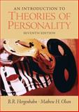 An Introduction to Theories of Personality, Olson, Matthew H. and Hergenhahn, B. R., 013194228X