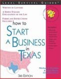 How to Start a Business in Texas, Michael T. Norman and Mark Warda, 1572482281