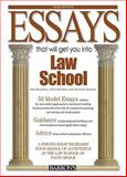 Essays That Will Get You into Law School, Dan Kaufman and Chris Dowhan, 0764142291