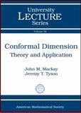 Conformal Dimension, John M. Mackay and Jeremy T. Tyson, 0821852299
