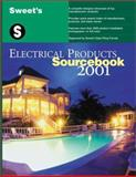 Sweet's Electrical Products Sourcebook 2001, Sweets, 0071372296