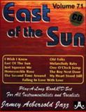 Volume 71 - East of the Sun, Jamey Aebersold, 1562242296