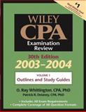 Wiley CPA Examination Review, Outlines and Study Guidelines, Delaney, Patrick R. and Whittington, O. Ray, 0471352306