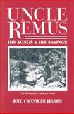 Uncle Remus, Joel Chandler Harris, 0877972303
