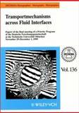 Dechema Monographien Bd 136 Transportmechanisms Across Fluid Interfaces, G. Kreysa, 3527102302