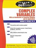 Schaum's Outline of Complex Variables, Spiegel, Murray R., 0070602301