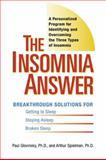 The Insomnia Answer, Paul Glovinsky and Art Speilman, 0399532307