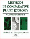 Methods in Comparative Plant Ecology : A Laboratory Manual, , 0412462303