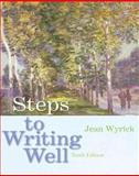 Steps to Writing Well, Wyrick, Jean, 1413032303