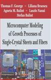 Microcomputer Modeling of Growth Processes of Single-Crystal Sheets and Fibers, George, Thomas F., 1600212301