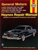 Cadillac Eldorado, Olds Toronado, Buick Riviera 1971-85, John Haynes, 1563922312