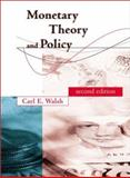 Monetary Theory and Policy, Walsh, Vincent and Pascual-Leone, Alvaro, 0262232316