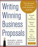 Writing Winning Business Proposals, Freed, Shervin and Freed, Richard C., 0071742328
