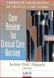Core Review for Critical Care Nursing, AACN, 0721652328