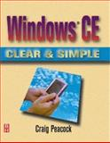 Windows CE Clear and Simple, Peacock, Craig, 0750672323