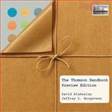 Thomson Handbook 9781413032321