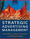 Strategic Advertising Management 9780198782322