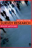 Survey Research, Sapsford, Roger, 1412912326