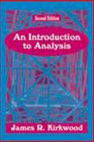An Introduction to Analysis, Kirkwood, James R., 1577662326