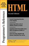 HTML Programmer's Reference, Powell, Thomas A. and Whitworth, Dan, 0072132329